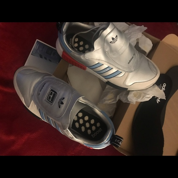 new concept eef09 6c977 Adidas NMD Micropacer xr1 metallic silver